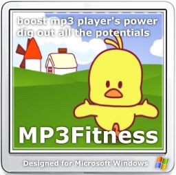 MP3 Fitness - MP3 compresser to double your MP3 players' capacity